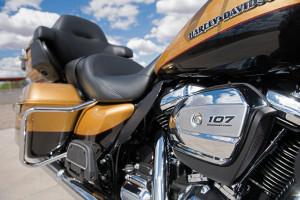 Harley-Davidson® Ultra Limited 107 engine