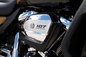 Harley-Davidson® Ultra Limited engine