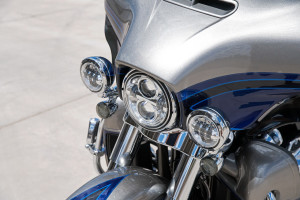 Harley-Davidson CVO Limited headlight