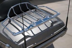 Harley-Davidson CVO Limited rear rack