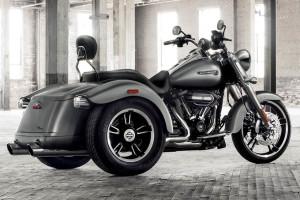 Harley Davidson Freewheeler exterior