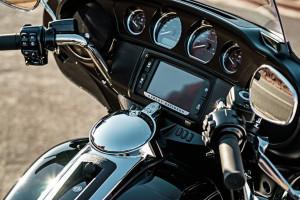 Harley-Davidson Tri Glide Ultra infotainment
