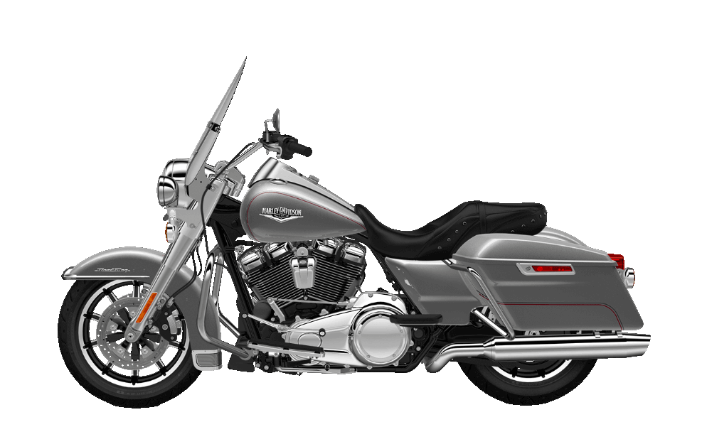 Road King Billet Silver
