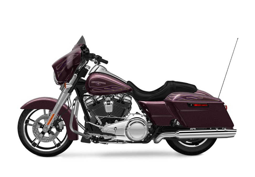 Street Glide Special Hard Candy Mysterious Purple Flake