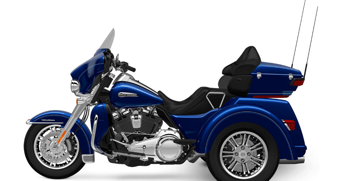 Harley-Davidson® Tri-Glide® Ultra: Confidence and Comfort on ... on