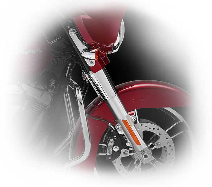 Harley-Davidson® Street Glide® Special control features