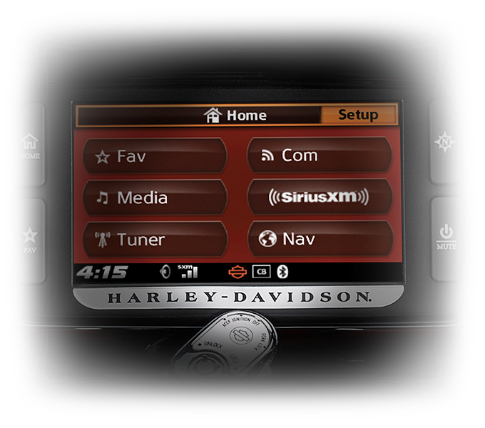 Harley-Davidson® Street Glide® Special infotainment features
