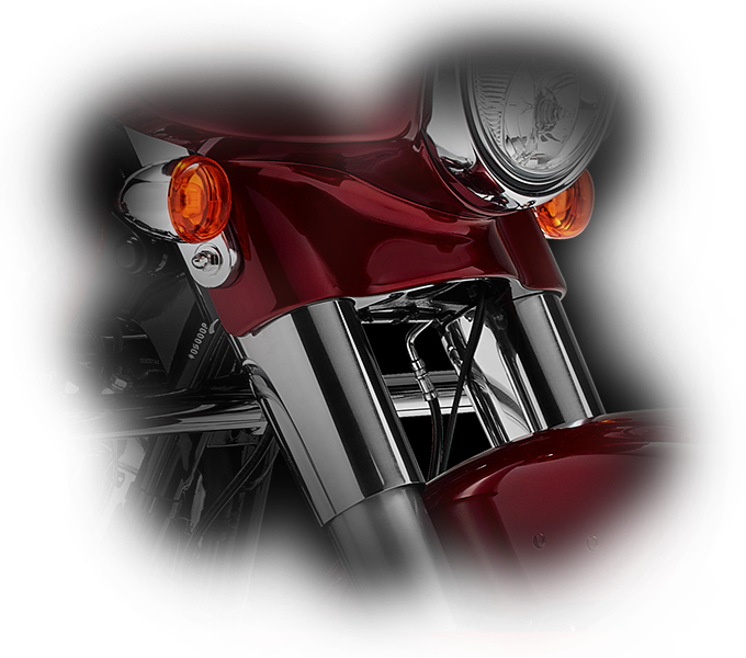 Harley-Davidson® Street Glide® Special style features