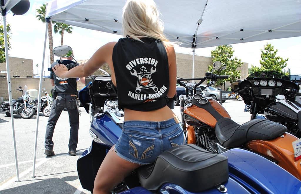 Riverside Harley Service Department Authorized Genuine California Inland Empire Motorcycle Mechanic