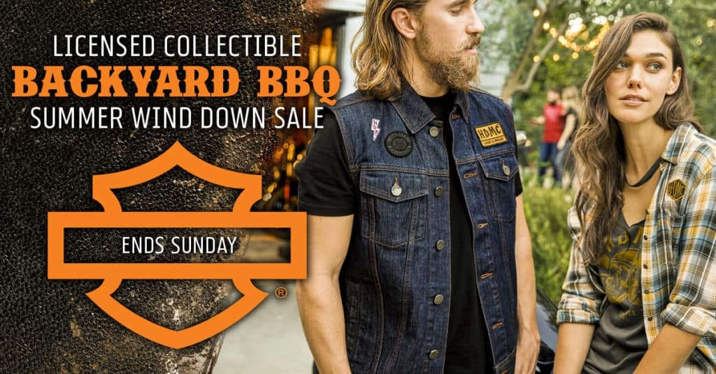 Harley Summer 2019 Backyard BBQ Licensed Collectible Sale