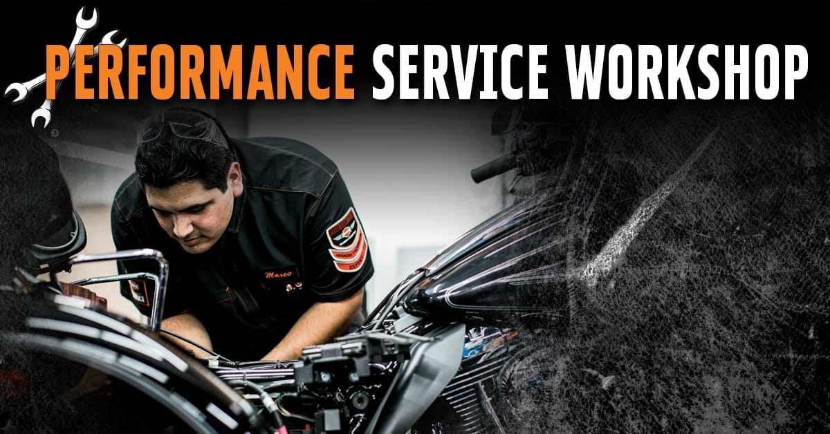 Harley Performance Workshop in Riverside California