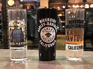 Riverside Harley Shot Glass