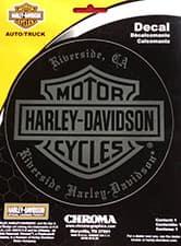 Riverside Harley Decal