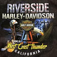 Riverside Harley West Coast Thunder T-Shirt