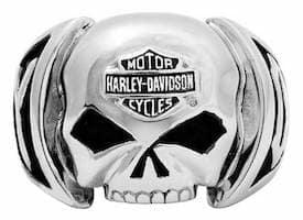 hsr0004 - Harley Skull Ring