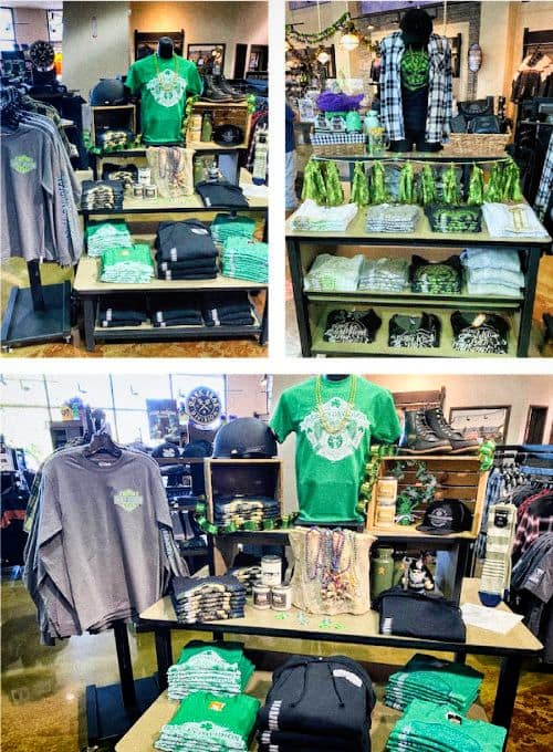 St Patrick's Day Tee Tables