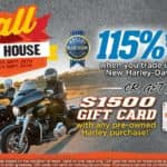 115 Kelley Blue Book Value on Trade or $1500 Gift Card on Pre-Owned Purchase