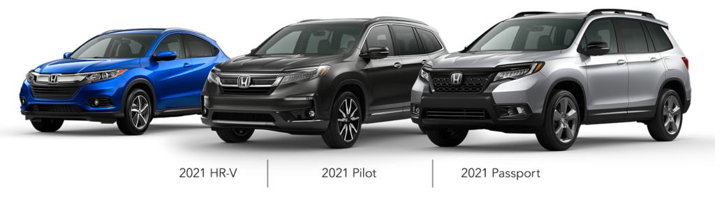 2021 Honda SUVs APR Offer