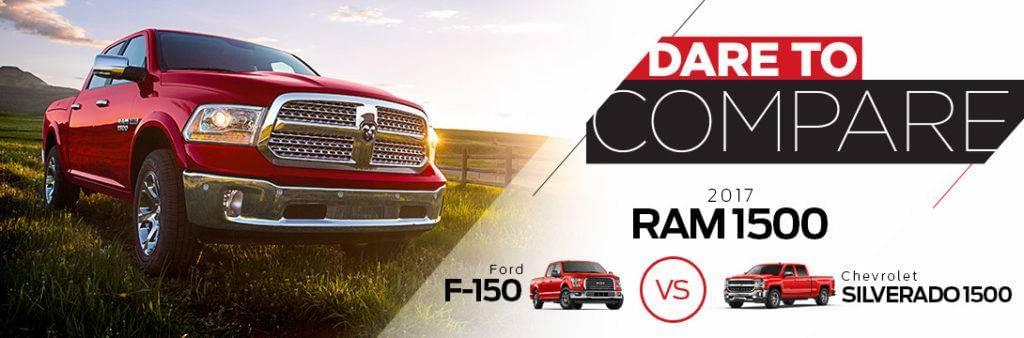 2017 Ram Dare to Compare