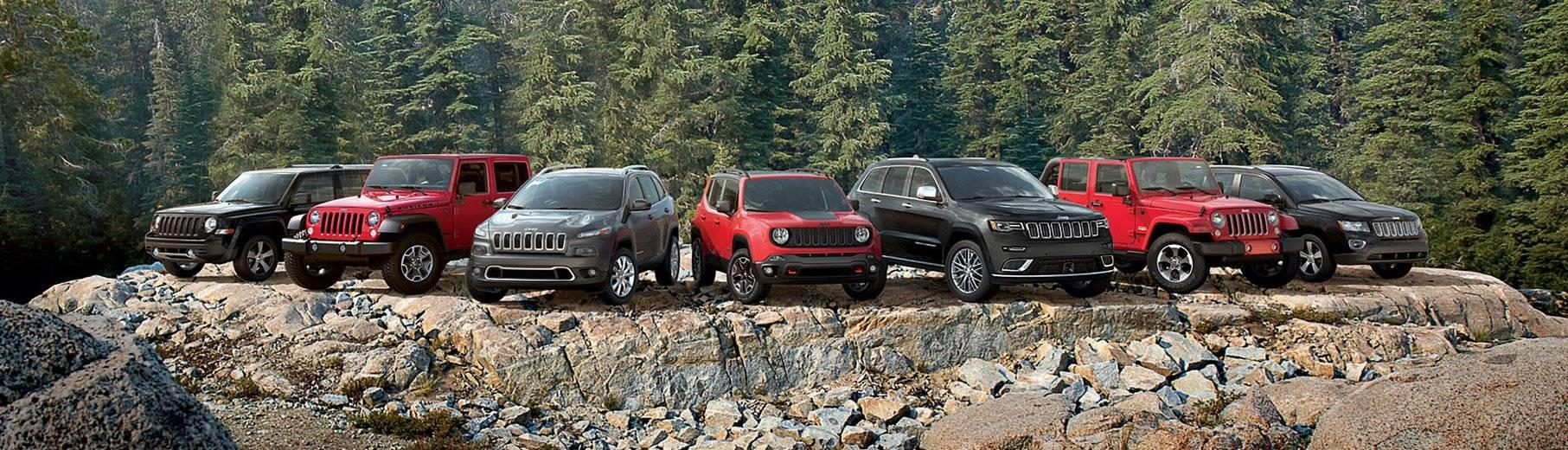2017 Jeep Models - Wrangler Unlimited, Wrangler, Cherokee, Grand Cherokee, Compass, Renegade, Patriot