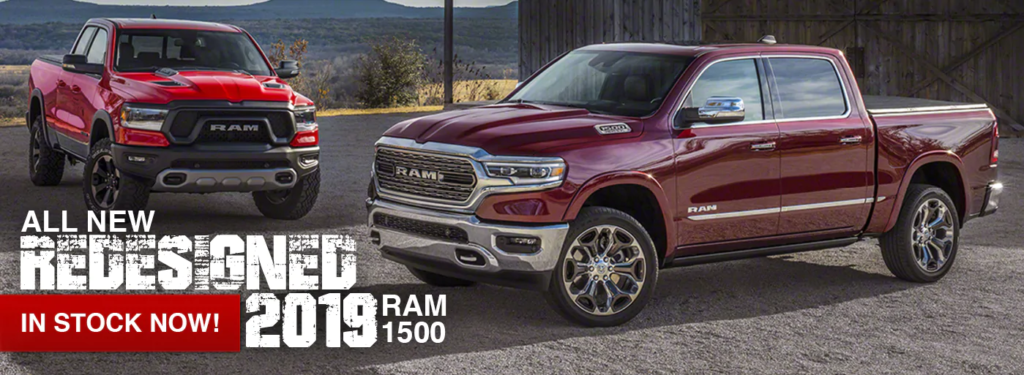 The all new 2019 ram 1500