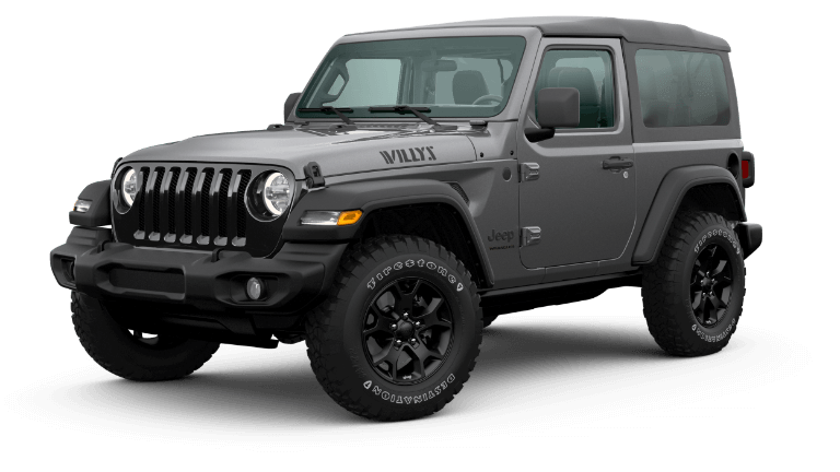 2020 Jeep Wrangler Willys - Granite