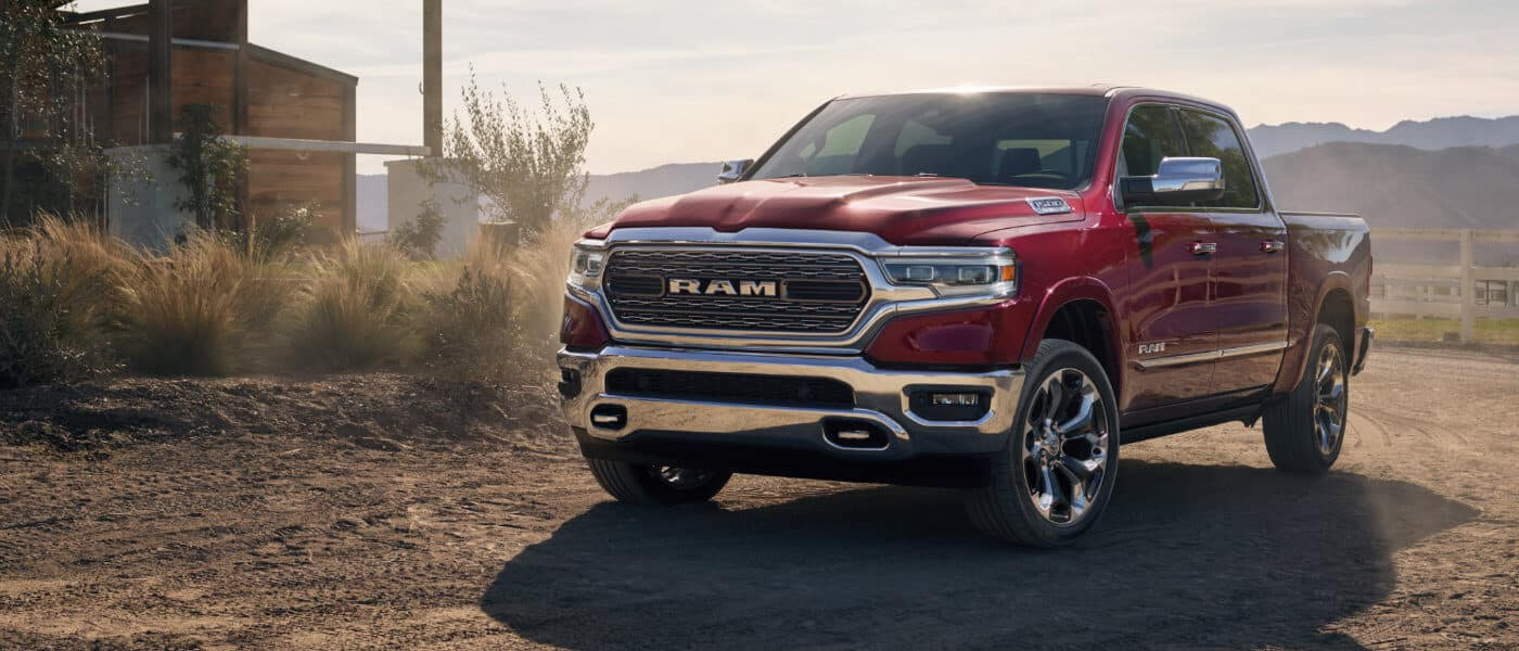 2020 Ram 1500 exterior on ranch