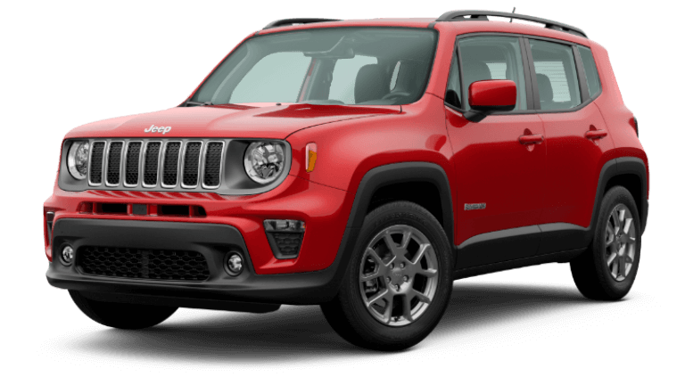 2019 Jeep Renegade Latitude - Colorado Red