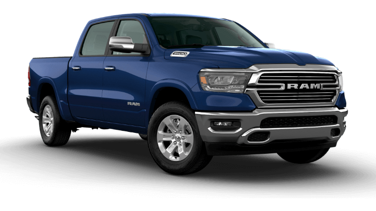 2020 Ram 1500 Laramie - Patriot Blue