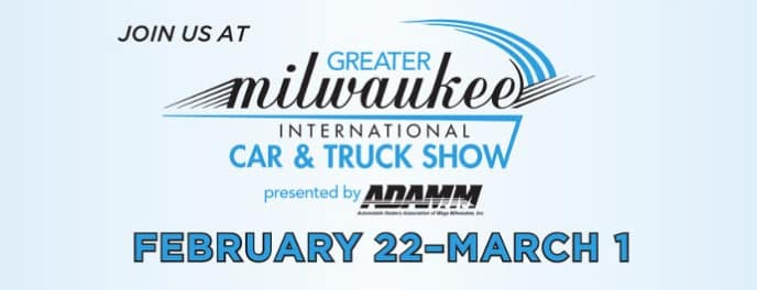 Join Us at Milwaukee Auto Show