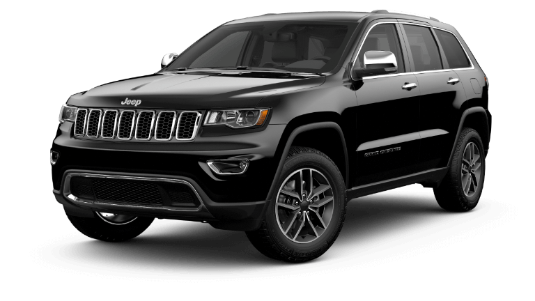 2020 Jeep Grand Cherokee Limited - Diamond Black