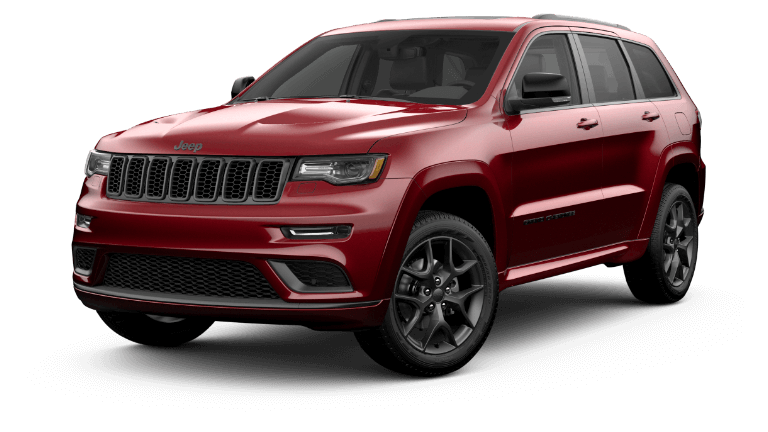 2020 Jeep Grand Cherokee Limited X - Velvet Red