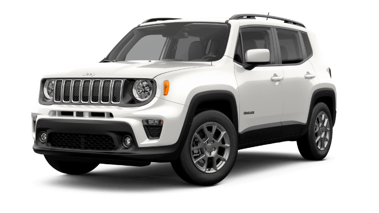 2020 Jeep Renegade Latitude - Alpine White