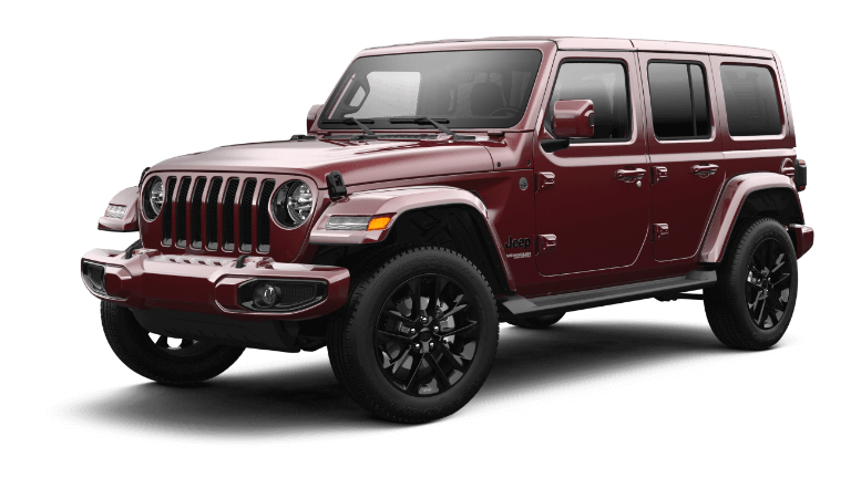 2021 Jeep Wrangler High Altitude Trim