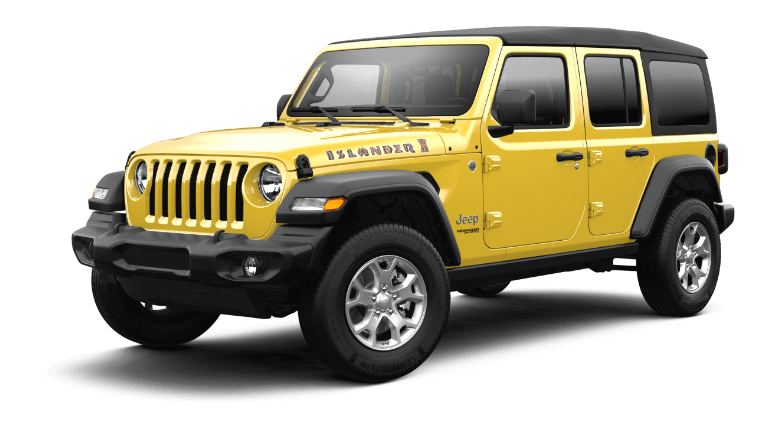 2021 Jeep Wrangler Islander Trim