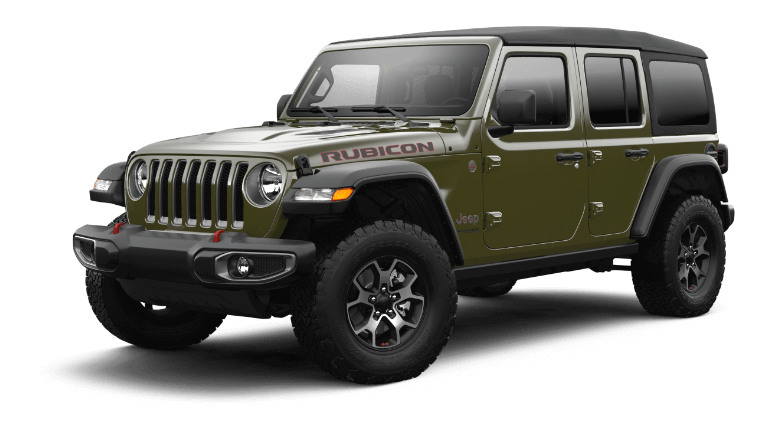 2021 Jeep Wrangler Rubicon Trim
