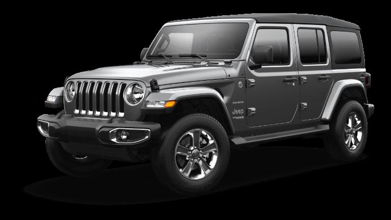 2021 Jeep Wrangler Sahara Trim