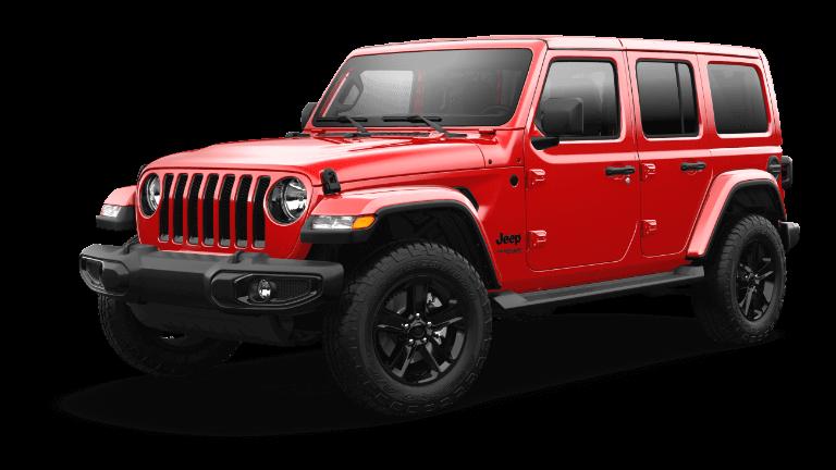2021 Jeep Wrangler Sahara Altitude Trim