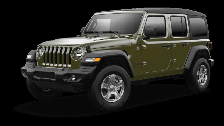 2021 Jeep Wrangler Sport S Trim