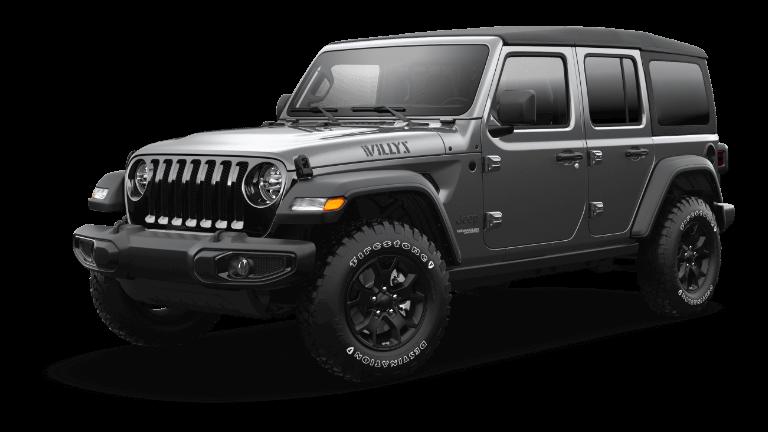 2021 Jeep Wrangler Willys Trim