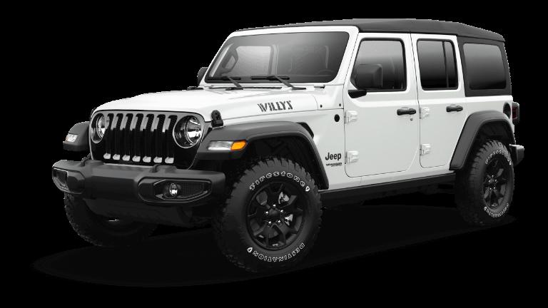2021 Jeep Wrangler Willys Sport Trim