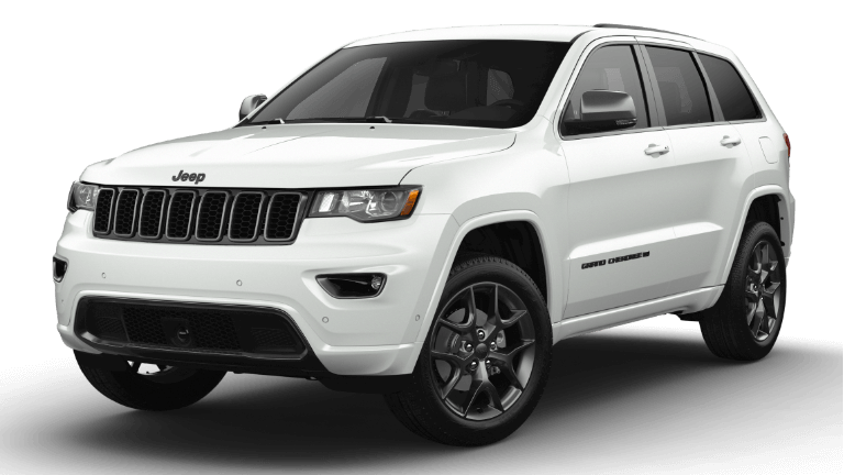 2021 Jeep Grand Cherokee 80th Anniversary Trim