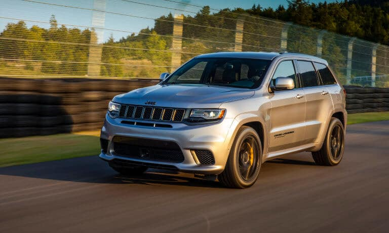 2021 Jeep Grand Cherokee Exterior Motion