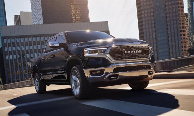 2021 RAM 1500 Exterior City Drive Head On