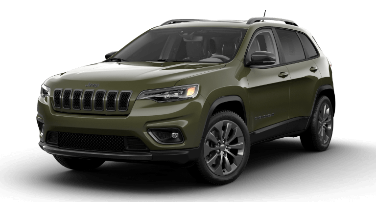 2021 Jeep Cherokee 80th Anniversary - Olive Green