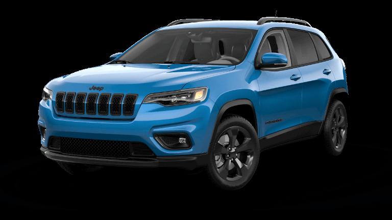 2021 Jeep Cherokee Altitude - Hydro Blue
