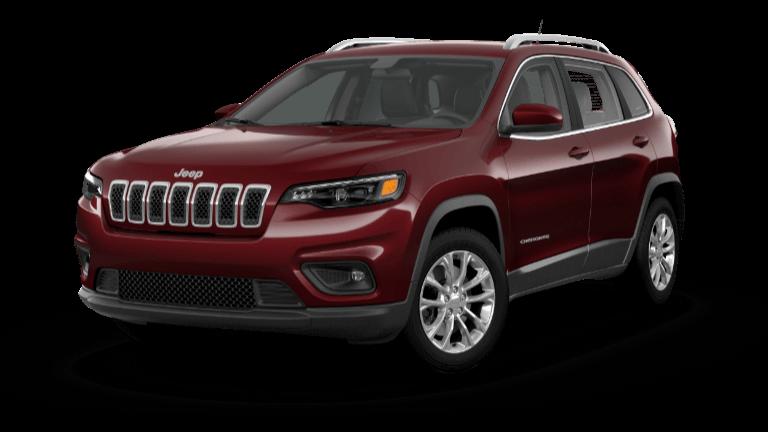 2021 Jeep Cherokee Latitude - Velvet Red