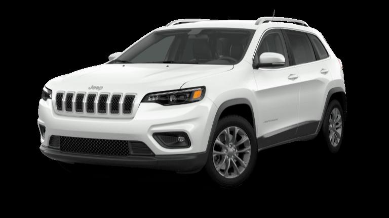 2021 Jeep Cherokee Latitude Plus - Bright White