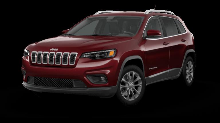2021 Jeep Cherokee Latitude Plus - Velvet Red