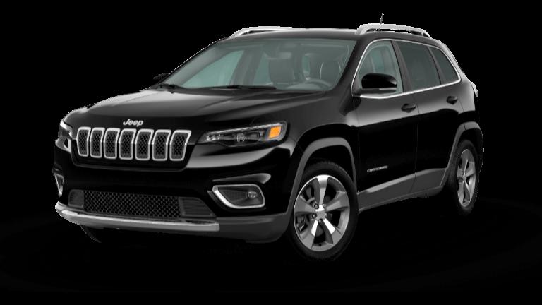 2021 Jeep Cherokee Limited - Diamond Black